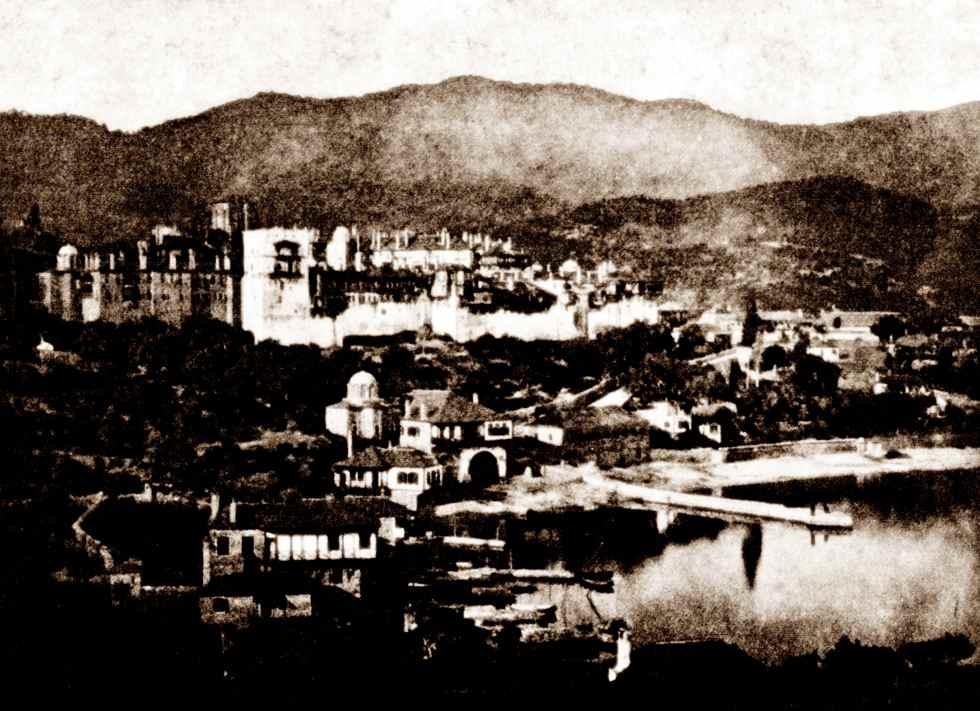 Iera Moni Vatopediou (fot. 1870)